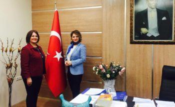 Sağlık Bilimleri Fakültesi Dekanı Prof. Dr. Nermin Yılmaz KILIÇ'a Ziyaret